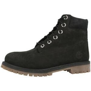 Timberland-6-Inch-Premium-Boots-Schuhe-Freizeit-Stiefel-black-A14ZO-Classic