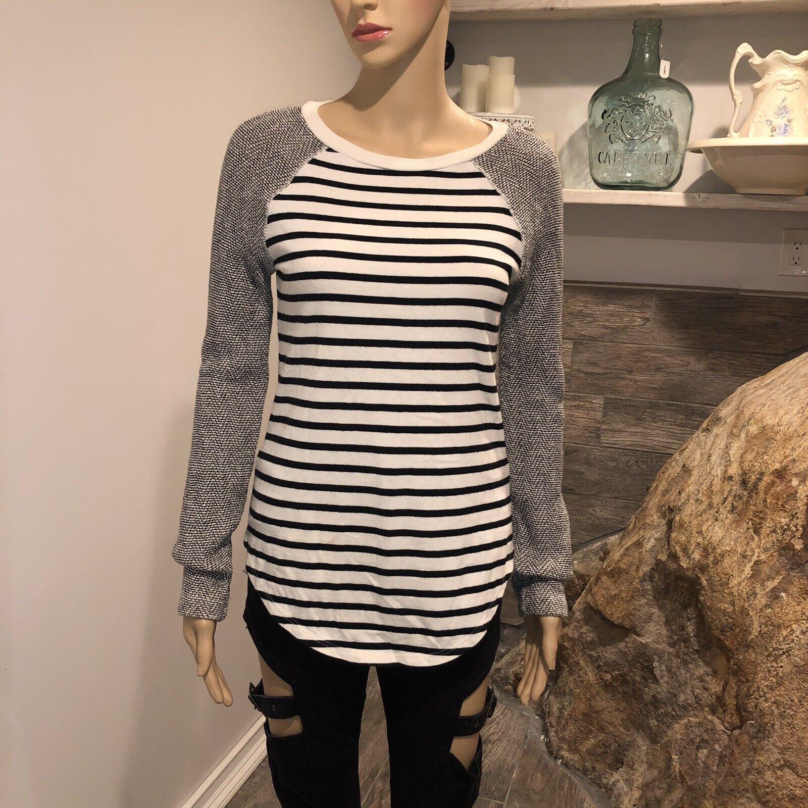PJK COTTON striped sweater size small