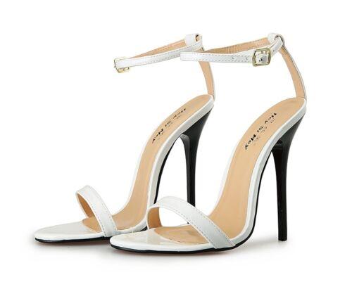 bride boucle à arrière à pour aiguilles femmes Talons à bout boucle classiques Hd214 ouvert sandales z7qC8