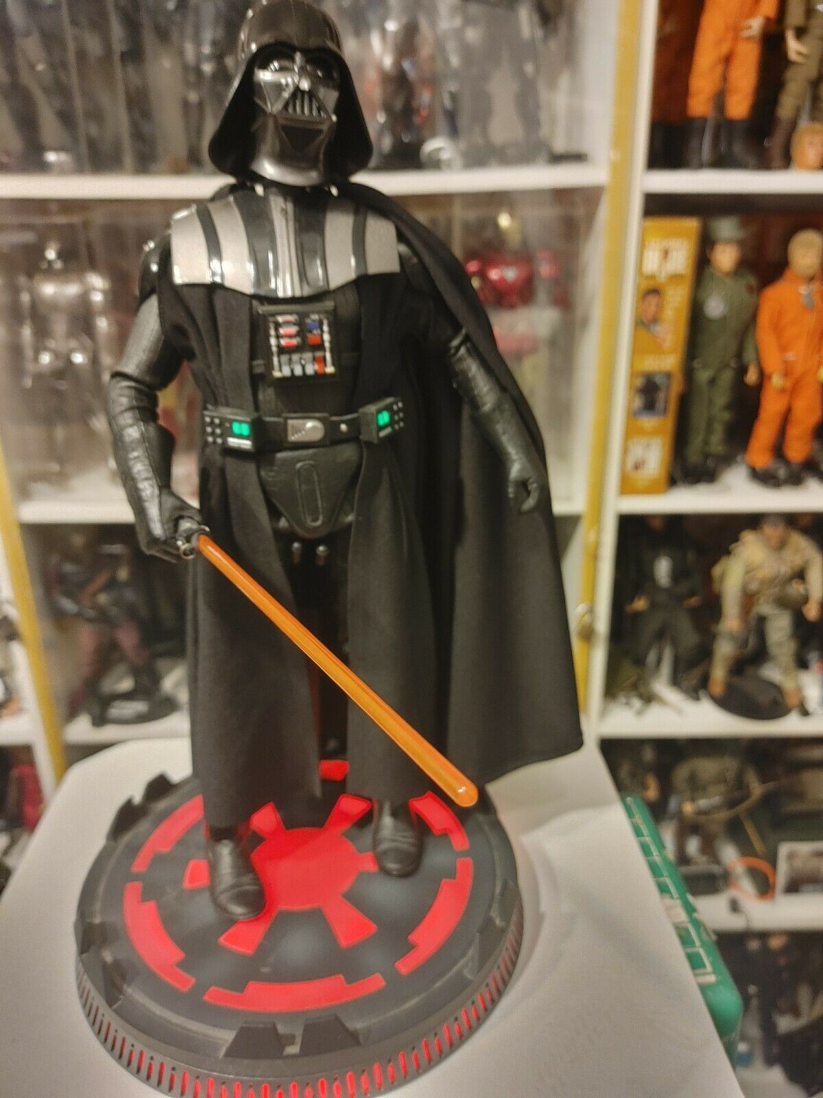 Sideshow Collectibles Star Wars 1/6 Deluxe Darth Vader ROTJ on eBay thumbnail