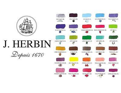 J Herbin 6 Tintenpatronen Stiefmütterchen Violett Füller Patrone Tintenpatrone