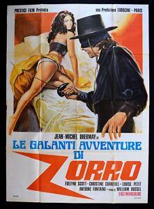 M148 Manifesto 4F Die Galanter Abenteuer Von Zorro, Jean-Michel Dhermay