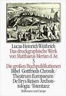 Das druckgraphische Werk von Matthäus Merian d. Ä. III. Die großen Buchpublikationen I von Matthäus Merian (1992, Gebundene Ausgabe)