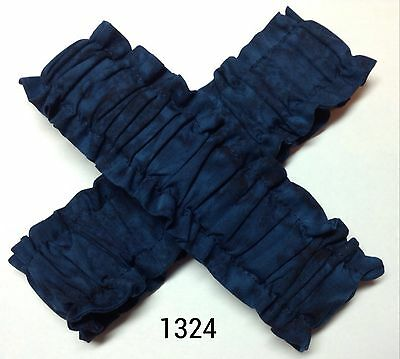 """Pair #1460 Cowboy Old West SASS Arm Sleeve Garters in /""""Blizzard/"""""""