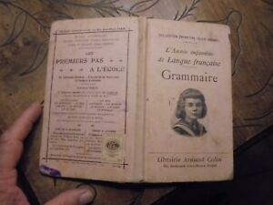 Ancien-Manuel-Scolaire-l-039-Annee-Enfantine-Langue-Francaise-Grammaire-1925-J-Bedel