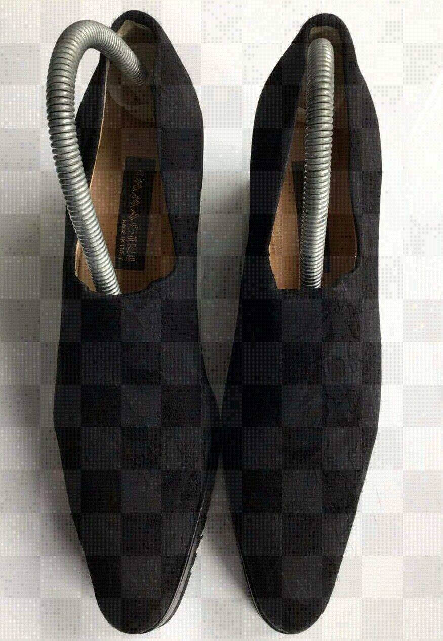 Immagini  Damen Keilabsatz Schuhe Plateau  Schuhe Gr.40 schwarz Neuwertig