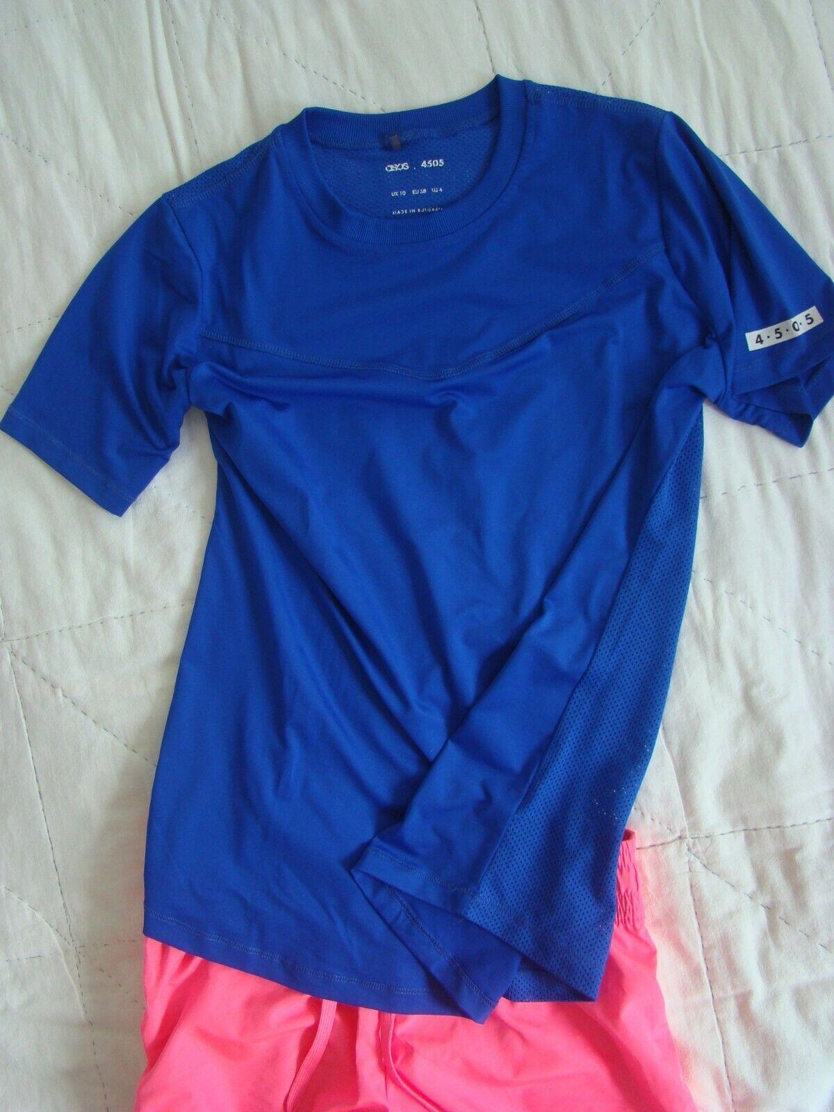 ASOS 4505 Damen Sport Shirt kurzarm luftig Gr. 38