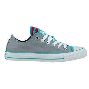 dce1cfee7c8 Converse All Star CT Multi Tongue OX Dolphin/Peac Womens Trainers ...