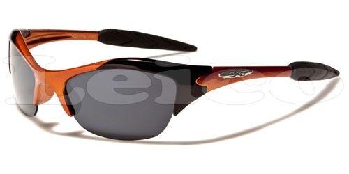 X-Loop Kids AGE 3-12 Boys Baseball Cycling Children Sport Half Frame Sunglasses