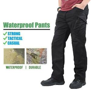 Tactique-Impermeable-Pantalon-Hommes-Combat-QuickDry-Leger-Cargo-Randonnee-Outdoor