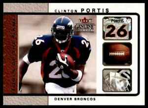 2003-FLEER-GENUINE-INSIDER-TOOLS-OF-THE-GAME-CLINTON-PORTIS-DENVER-BRONCOS-2-OF