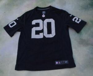 Details about Nike On Field NFL Oakland Raiders Darren McFadden #20 Jersey Size L.