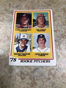 1975-Topps-703-JACK-MORRIS-Rookie-RC-HOF-VG-Detroit-Tigers