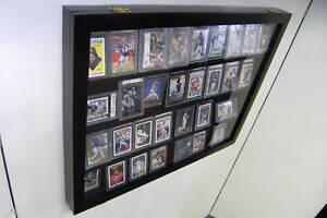 Details About Graded Baseball Card Display Case Holds 36 Psa Beckett Horzt
