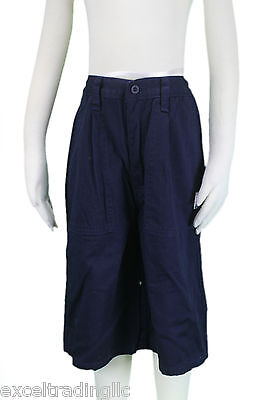 6 Years $58 NWT JACADI Boy/'s Bref Navy Blue Cotton Corduroy Trousers SZ