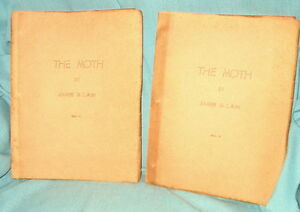 INSCRIBED-by-author-James-M-Cain-THE-MOTH-1948-1-20-author-copies-2-vol-set