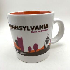 Pennsylvania Runs on Dunkin' Donuts Mug Cup DDestinations Collection 2012