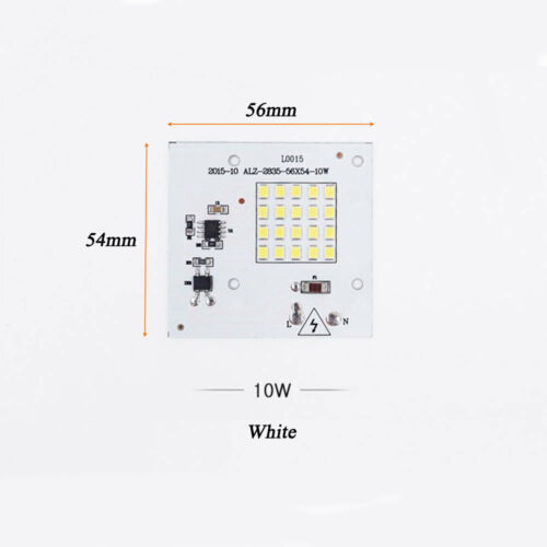 10//20//30W Bright Floodlight SMD Smart IC Light Beads LED Bulb Chip COB Lamp