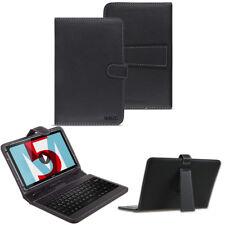 Tastatur Tasche Huawei MediaPad M5 Lite Keyboard USB Hülle QWERTZ 10.1 Zoll Case