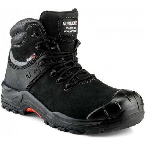 Buckler NKZ102BK Nubuckz Non-metallic Dealer Boots Black Sizes 6-13