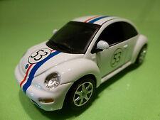 IXO VW VOLKSWAGEN NEW BEETLE - HERBIE No 53 - WHITE 1:43 - EXCELLENT