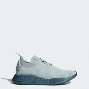 Details about Adidas Women's NMD_R1 PK Primeknit Sea Crystal Blue Tactile Green Petrol CG3601