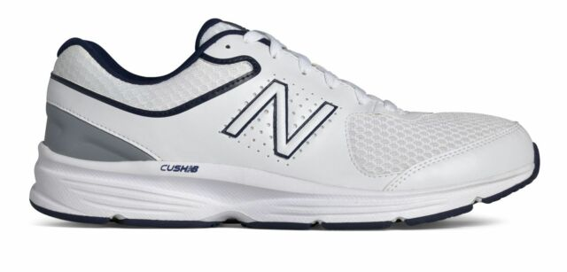 new product eba85 fabb7 New Balance Men's 411V2 Shoes White With Blue