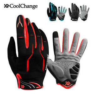 Full Finger Bike Gloves MTB Cycling Motorcycle Bicycle Sports Racing  Non-slip