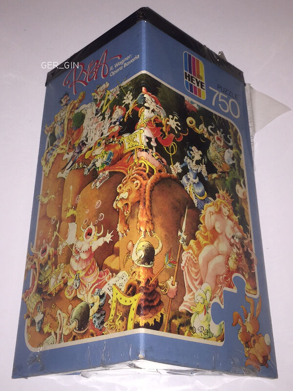 HEYE PUZZLE | RYBA R WAGNER OPERA BAVARIA 750 Pcs Pz | 1988 SEALED NEW JIGSAW
