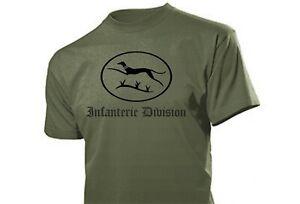 """T-Shirt 16. Infantrie Division """"Windhund"""" Panzer Wehrmacht WH WK2 WWII Gr S-XXL"""