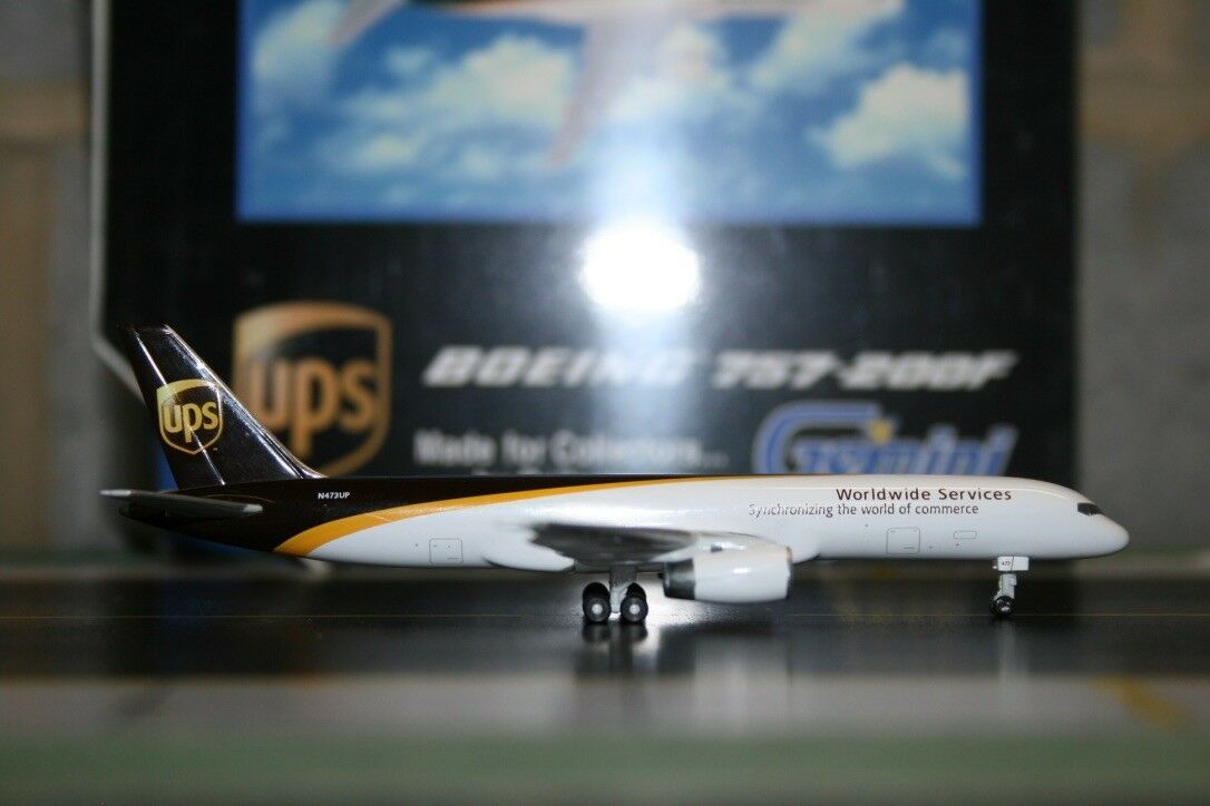 Gemini - jets 1 400 ups boeing 757-200f n473up (gjups380g) sterben mit modellflugzeug