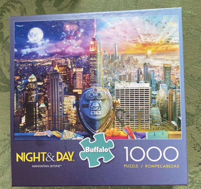 Jigsaw Puzzle 1000 Pcs Manhattan Skyline NY City Landmarks