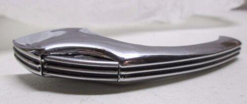 Vintage Amerock Cabinet Catch Latch Polished Chrome Black Lines ED9400 1940/'s