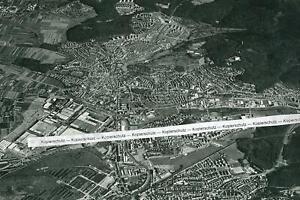 Sindelfingen - Luftbild der Stadt - um  1960                 S 13-24