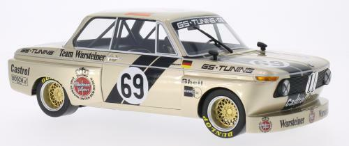 BMW 2002 Gr.2 GS Tuning Warsteiner DRM 1975 by BoS Models LE of 1000 1 18