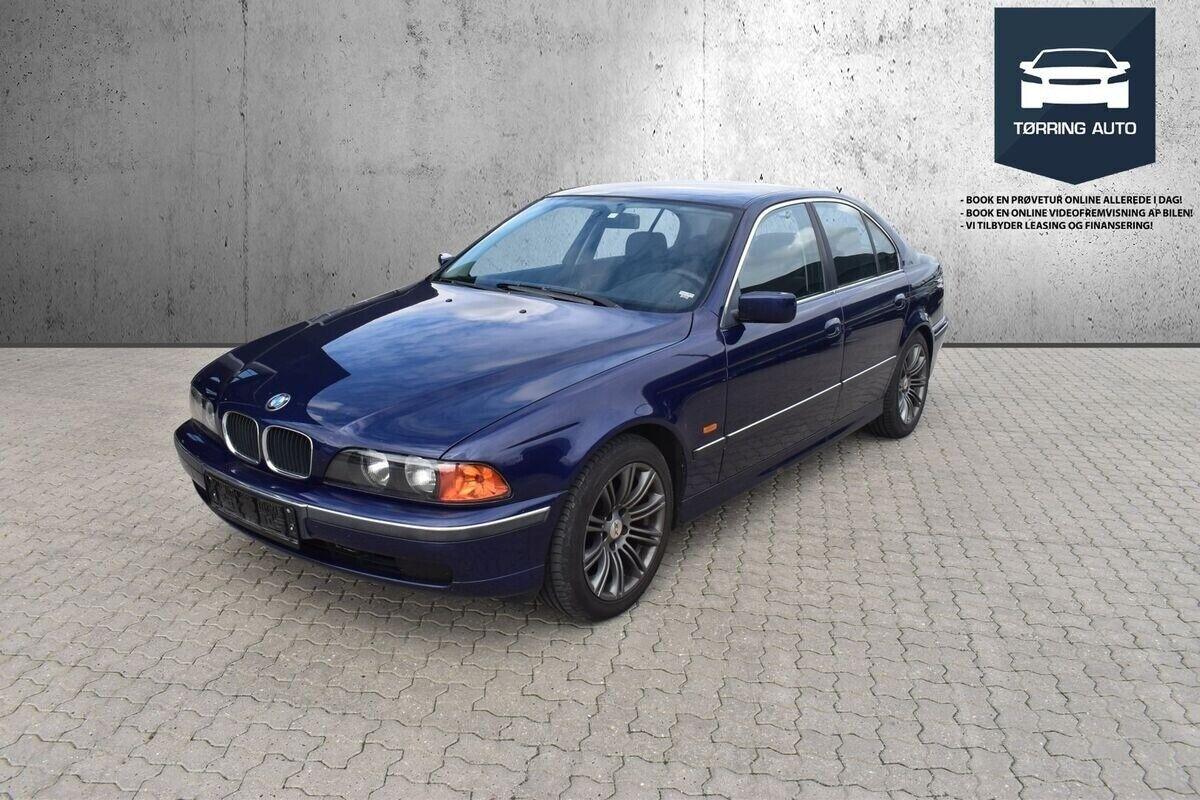 BMW 520i 2,0 aut. 4d - 37.500 kr.