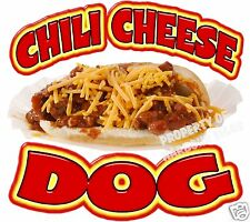 Chili Cheese Dog Decal 12 Hot Dogs Concession Food Truck Cart Vinyl Sticker