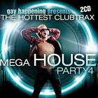 Gay Happening Presents: Mega House Party, Vol. 4 by Various Artists (CD, 2010, 2 Discs, House Nation)