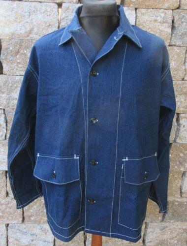 DENIM WORKER Veste m-1940 Lutece MFG US Army USN USMC Chore jacket Rockabilly
