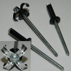 100 Stk Blindnieten 3x10  Kupfer//Stahl   Flachkopf