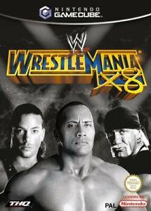 Nintendo-GameCube-Spiel-WWE-Wrestlemania-X8-mit-OVP