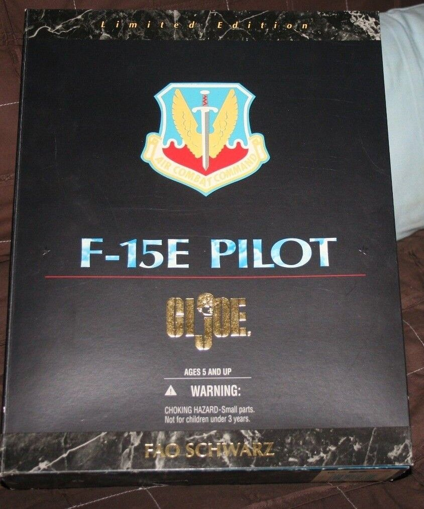 1996 F-15E Pilot GI Joe Joe Joe Limited Edition FAO black-New in Box 2c0acb