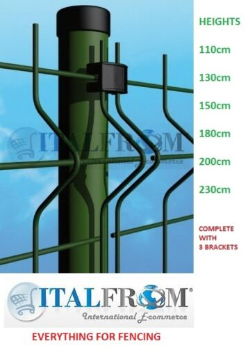 round post green wire mesh fences electro welded fence panel