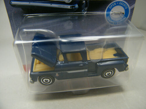 Matchbox 2018//9 Moving Parts nur USA 4 neue Modelle Buick Datsun Chevy C10