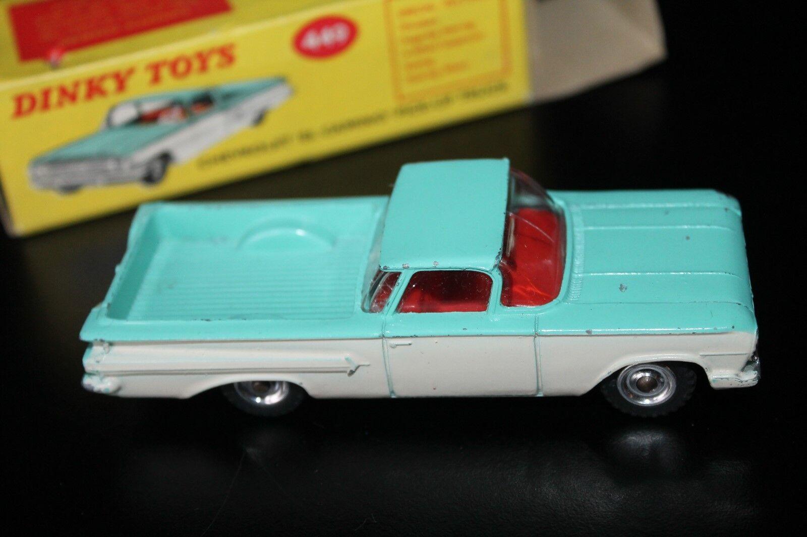 Dinky Toys 449  Chevrolet El Camino pick-up Truck  embalaje original  1 43