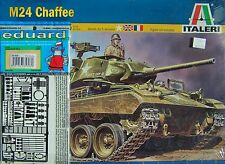 NEW M24 CHAFFEE Light Tank Italeri #1361 BONUS 1/35 Eduard #35 608 P/E MISB F/S