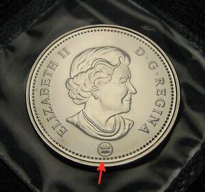 2009 RCM Logo Half Dollar 50 Fifty Cent Canada BU Coin