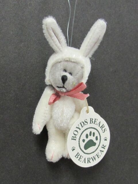 RABBIT HARE HOPLEY F EASTER BUNNY WUZZIE BOYDS PIN