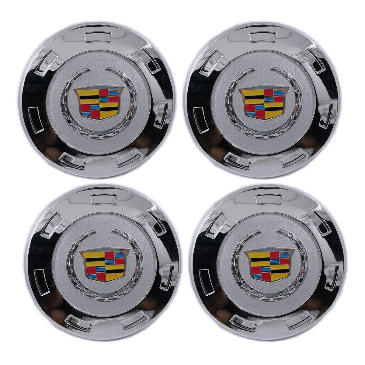 """Wheel Center Hub Cap Chrome 200mm Color LOGO For CADILLAC ESCALADE 22/"""" 7 Spoke"""