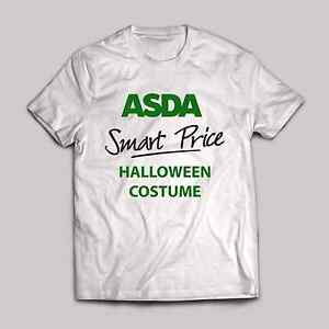 d87f0432 Free postage. Image is loading Asda-Smart-price-Halloween-Costume-T- Shirt-funny-
